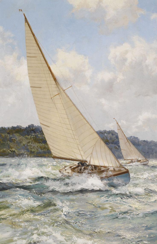 Montague Dawson R.S.M.A., F.R.S.A. | lot | Sotheby's: