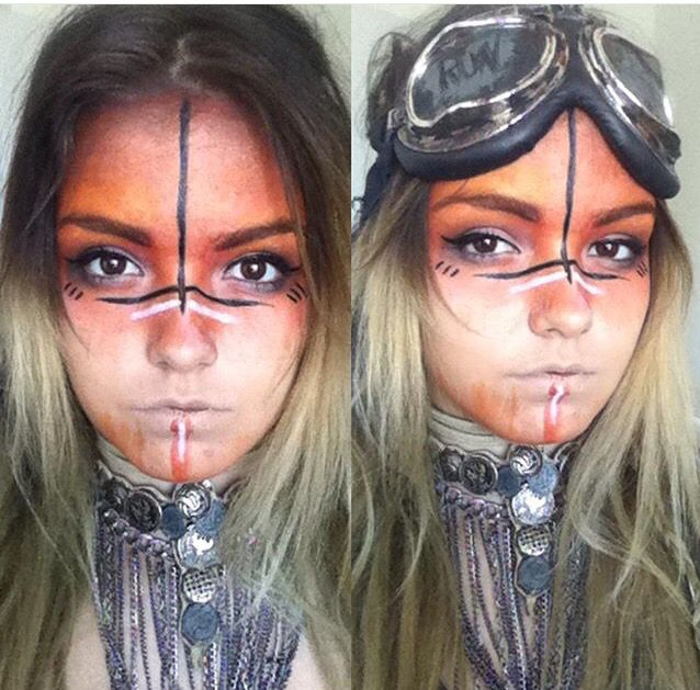 Warrior make up                                                                                                                                                      More