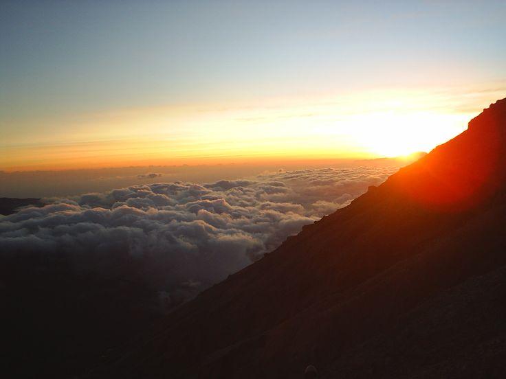 Samudra di atas awan, Mahameru