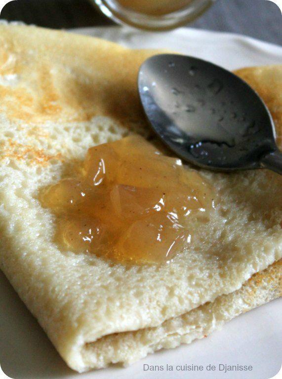 Une délicieuse recette de gelée vanillée de poires avec Thermomix ou non.