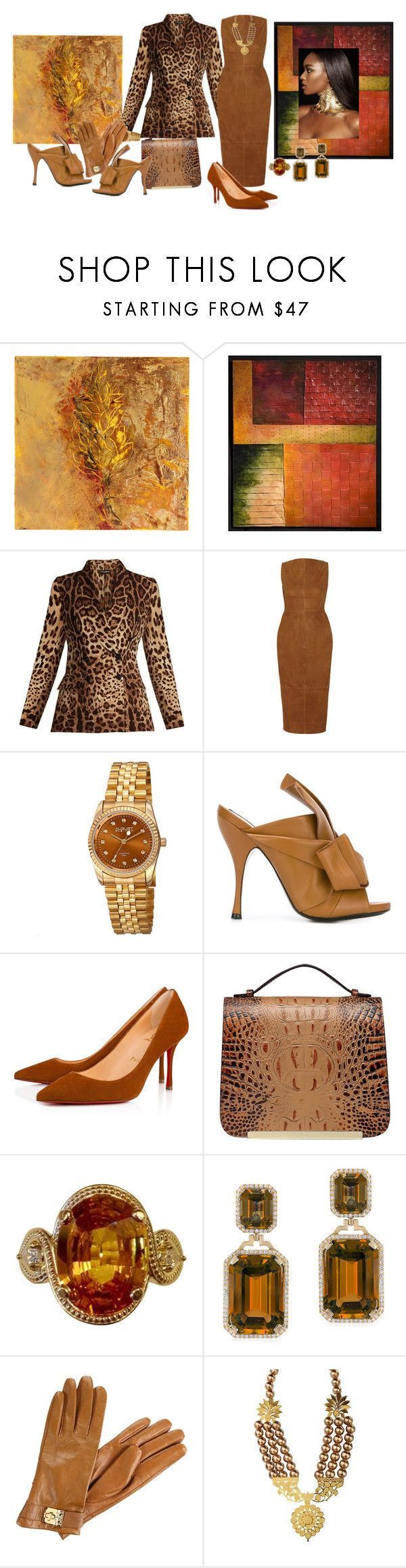 """""""Art Lover on the job at all times"""" by blujay1126 ❤ liked on Polyvore featuring Sara Post, David Paul Bacharach, Dolce&Gabbana, Rick Owens, August Steiner, Christian Louboutin, Vicenzo Leather, Goshwara and MICHAEL Michael Kors"""