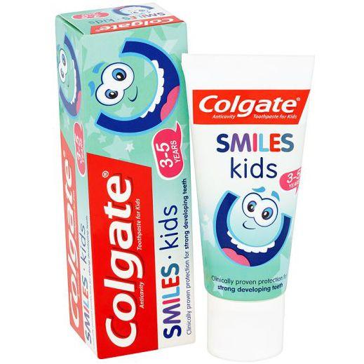 Colgate Smiles Junior Παιδική Οδοντόκρεμα Κατά της Τερηδόνας 6+ Ετών 50ml. Μάθετε περισσότερα ΕΔΩ: https://www.pharm24.gr/index.php?main_page=product_info&products_id=13871