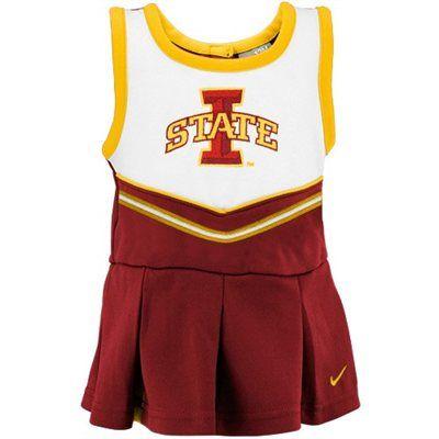 Nike Iowa State Cyclones Infant 2-Piece Cheerleader Dress Set - Cardinal... Sarah's fashion of course