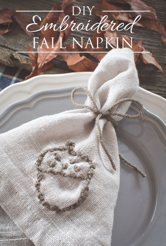 Napkins embroidery hoops and the golden on pinterest