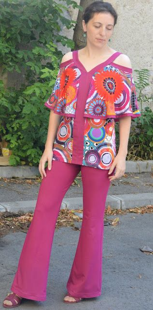 I believe I can sew...: Fun summer outfit with Vogue 9238