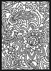 Image result for Paisley Coloring Pages for Adults