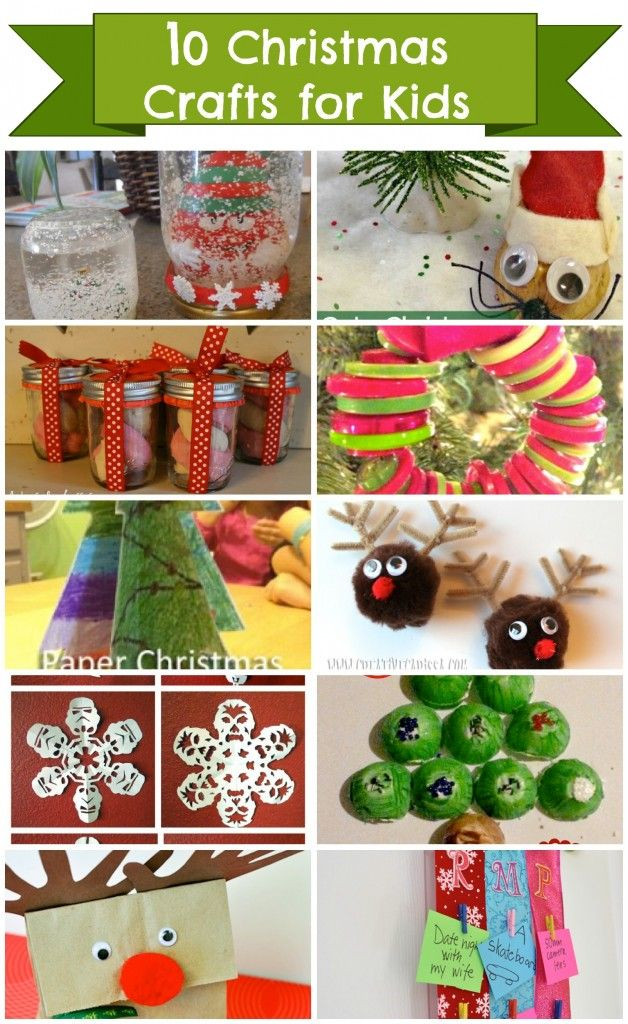 10 Christmas Crafts for Kids