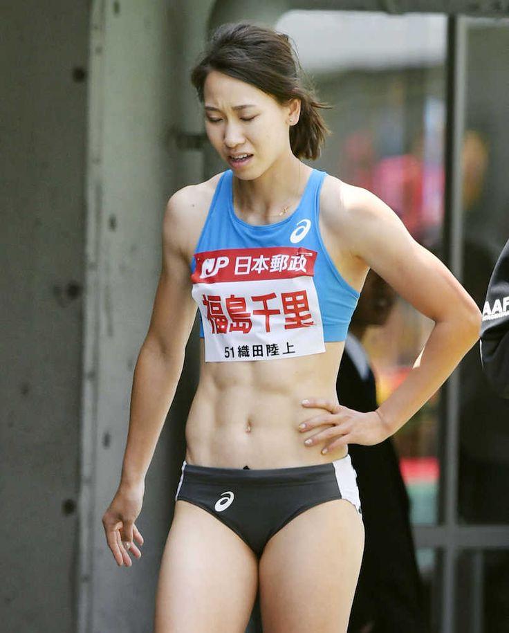 女子100メートル予選のレース途中で棄権し、引き揚げる福島千里 #陸上 #福島千里