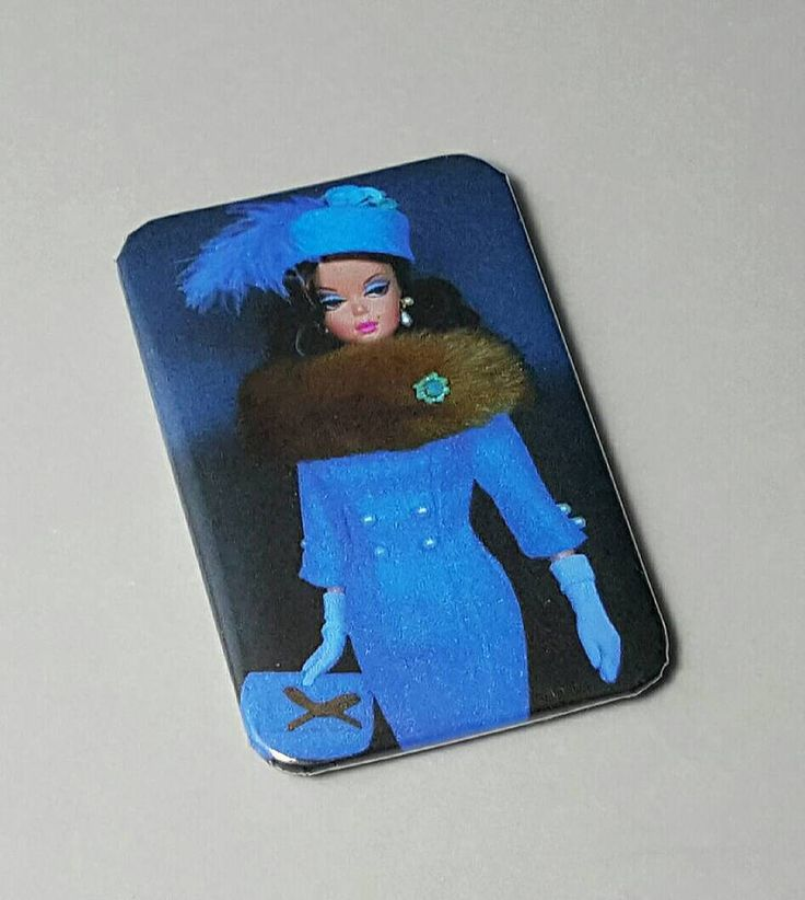 Barbie Original 1959 Doll Kids Pin Party Girls Boys Pinback Button Badge Mad Men