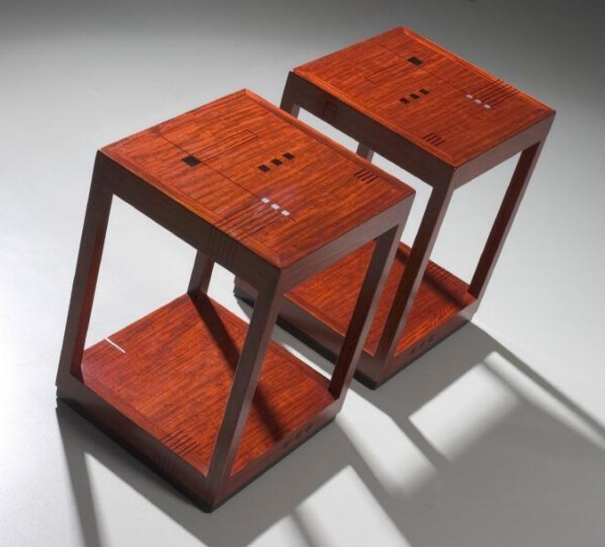 Schuitema Ascot bijzettafel - Art Deco meubelen - www.hoogebeen.nl/schuitema-meubelen/