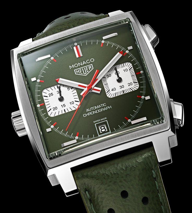 TAG Heuer Monaco Men's Club Japan Watch Watch Releases
