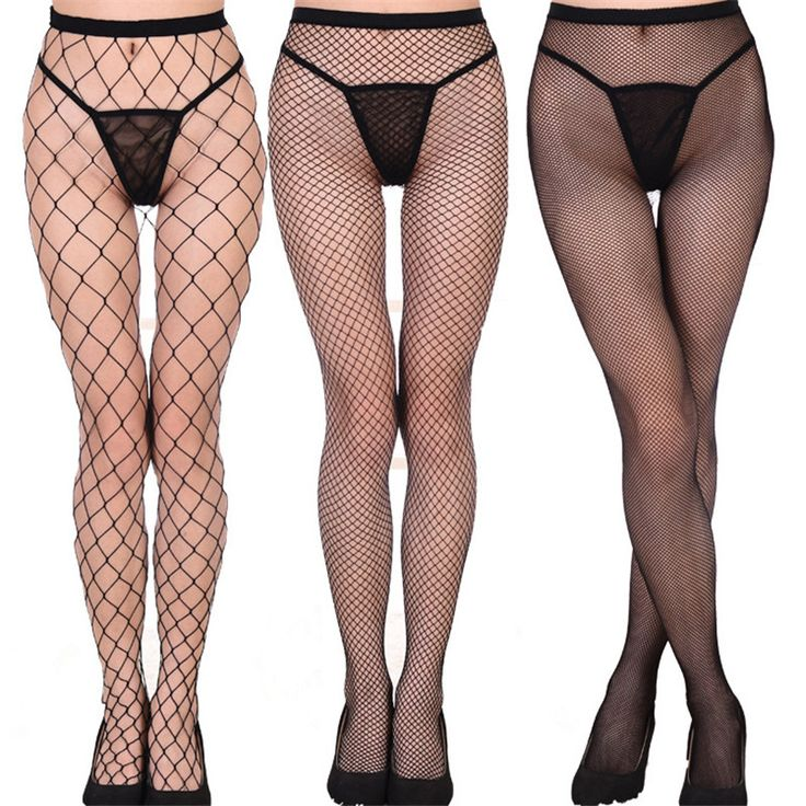 7 Colors Hot Sexy Mesh Pantyhose Women Sexy Fishnet Stockings Nylon Tights Ladies Long Stockings Over the Knee Socks 2017 New