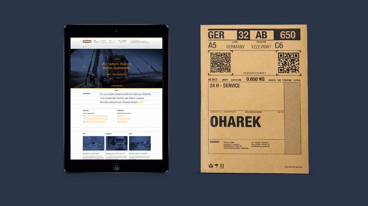 Oharek — Südsolutions    Website, Digital, Design, Repsonsive Design,