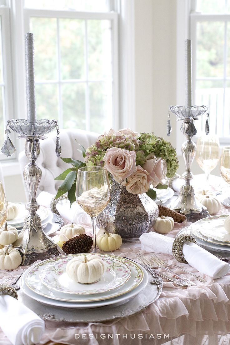 1409 best For the Table images on Pinterest | Table decorations ...
