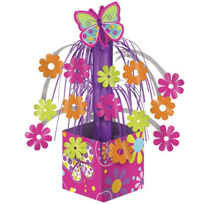 aa51e51676e Check out the deal on Butterfly Sparkle Mini Foil Centerpiece at Party at  Lewis. Click