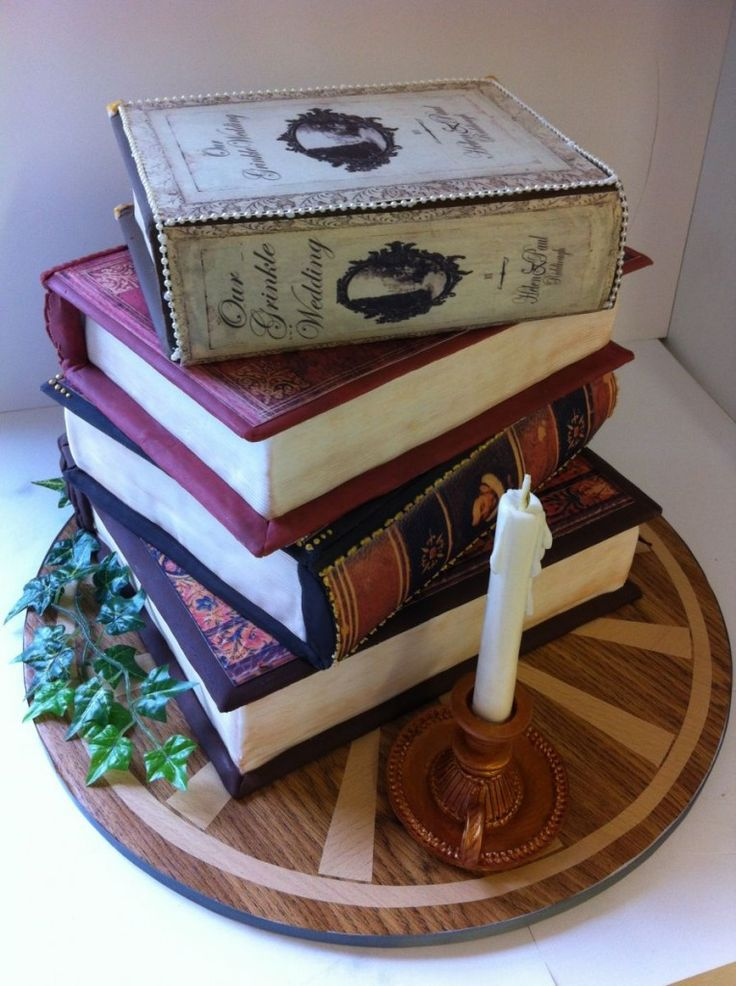 Book Shaped Cake Images : 1000+ ideas about Library Cake on Pinterest Birthday ...