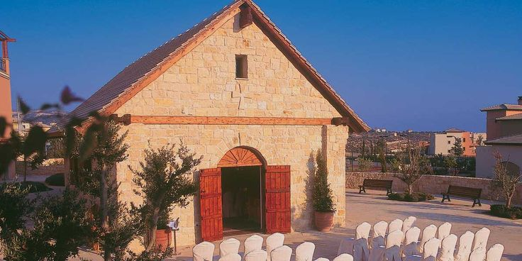 This might be the sweetest wedding chapel that we've ever visited! Aphrodite Hills Resort in Cyprus. #Wedding #Venue http://www.prestigiousvenues.com/venue/intercontinental-aphrodite-hills-resort-hotel/