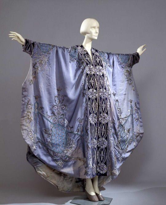 Kimono-style négligée , first quarter of the 20th century  From the Galleria del Costume di Palazzo Pitti via Europeana Fashion