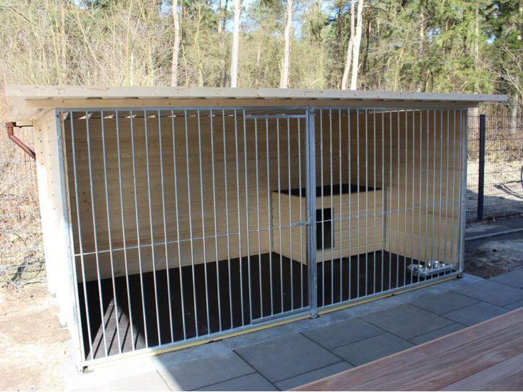 die besten 25 hundezwinger ideen auf pinterest hundezwinger bauen outdoor hundebereich und. Black Bedroom Furniture Sets. Home Design Ideas