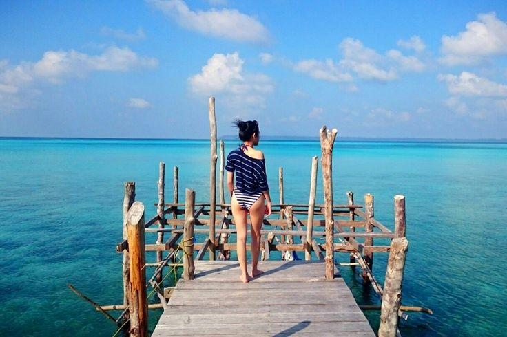 The other side of Maratua Island, East Borneo, Indonesia