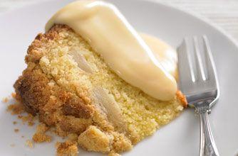 Cinnamon apple and pear crumble cake recipe - goodtoknow