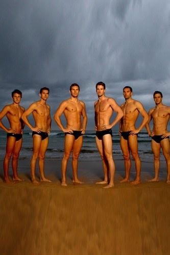 Jeux Olympiques 2012 : les athlètes les plus sexy ! l'équipe australienne de nageurs