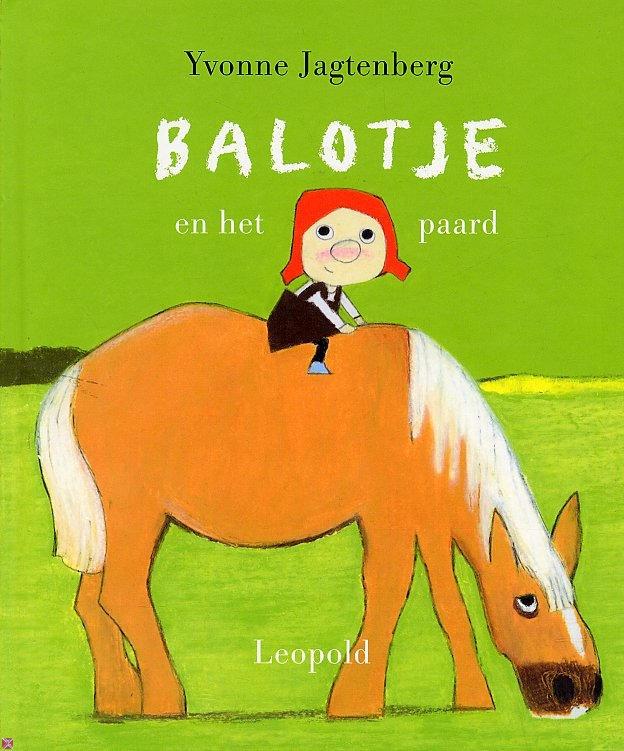 In de wei bij oom Ben staat een paard. Een lief paard met lang manen. Elke dag brengt Balotje het paard een appel. En soms een kusje. Op zijn neus.