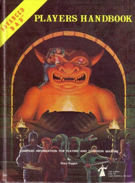 Players Handbook Advanced Dungeons and Dragons 1st release Dustrial Boston (1)