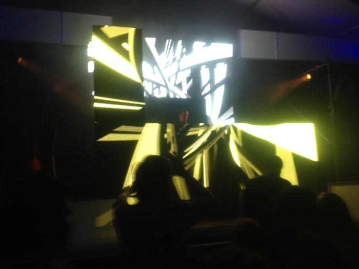 Dj Tweeter en CreamfieldsCL 2012