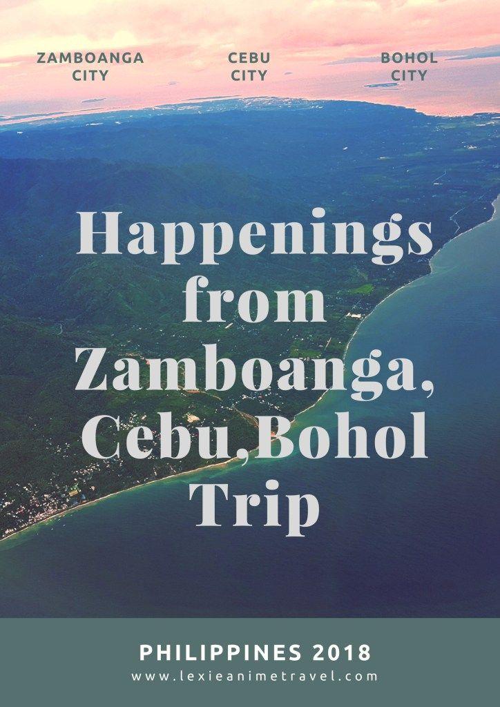 bohol trip happenings