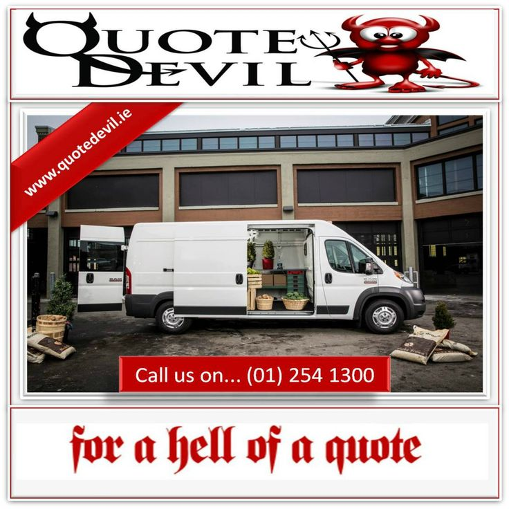 Helping To Reduce & Arrange #vaninsurance Since 2010: Call Us On... (01) 254 1300 #AD http://ow.ly/Y9Ox2