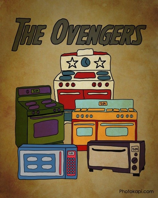 The Ovengers.