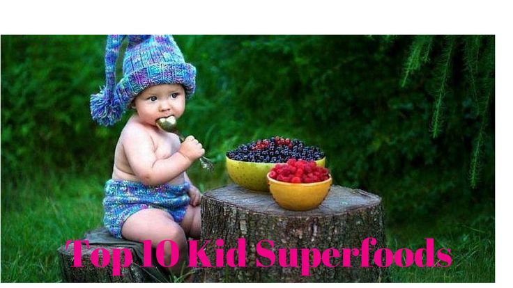 Are your little ones ravenous in the afternoons? Here are the top ten superfoods that will provide them with an abundance of healthy energy.