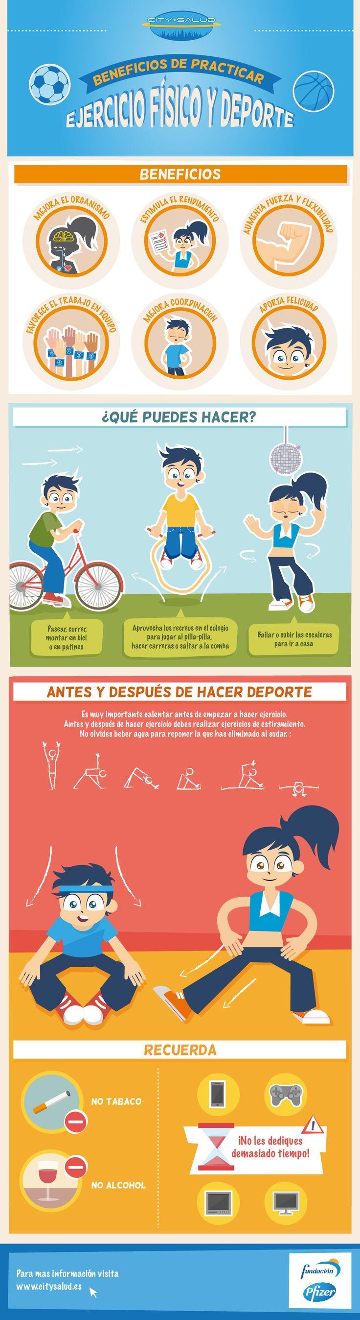 City Salud. Infografía: Actividad física