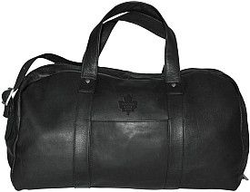 Pangea Toronto Maple Leafs Premium Leather Duffel Bag - Shop.Canada.NHL.com
