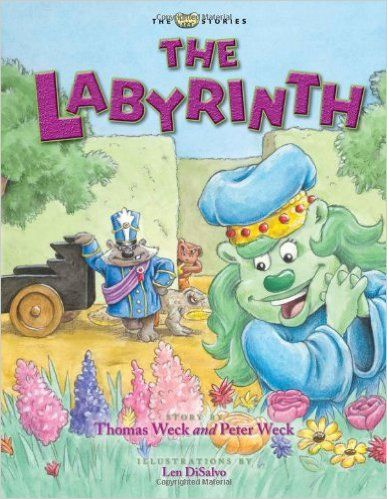 The Labyrinth (Lima Bear Stories): Thomas Weck, Peter Weck, Len DiSalvo: 9781933872049: Amazon.com: Books