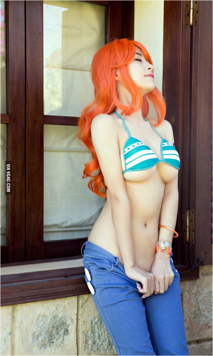 Cosplay babes one piece nico fucked in the woods