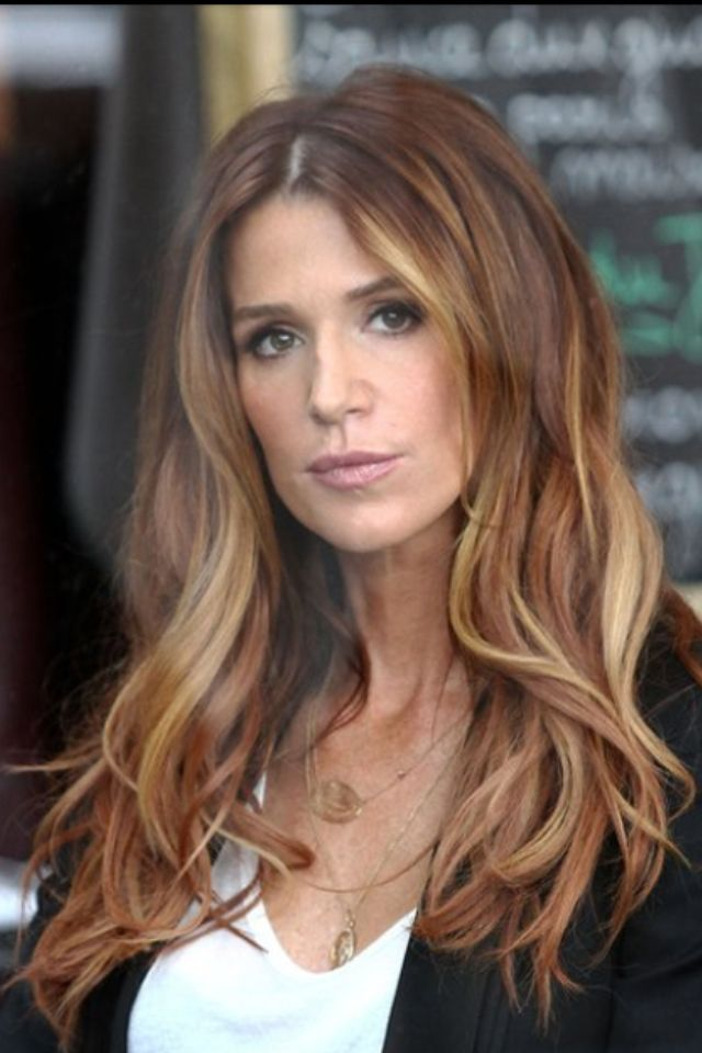 My Hair Goal 2014 Long Copper Blonde Ombr 233 Hair There