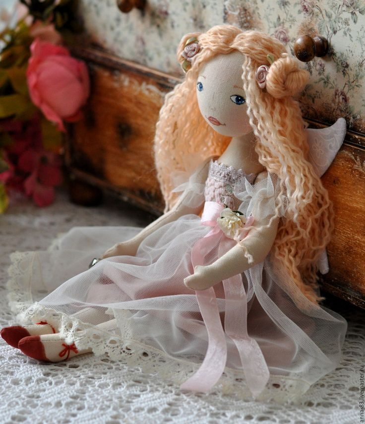 Купить Феечка - бледно-розовый, фея, феечка, зубная фея, универсальный подарок, крестная