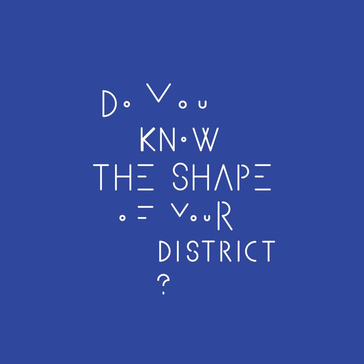 Do You know the shape of your district? #lokalny