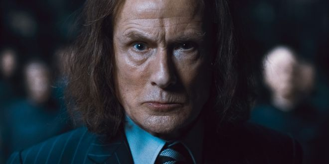 "Bill Nighy on why Rufus Scrimgeour was Welsh - and why he was glad to be in ""Potter""   In another interview at the Toronto Film Festival, Bill Nighy (Rufus Scrimgeour) spoke about the different roles he has played in his career, including his role as Rufus Scrimgeour in ""Harry Potter and the Deathly Hallows – Part 1″.   http://www.mugglenet.com/2014/09/bill-nighy-on-why-rufus-scrimgeour-was-welsh-and-why-he-was-glad-to-be-in-potter/"