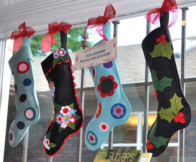 Felt Stockings | Erin Hamilton | Flickr