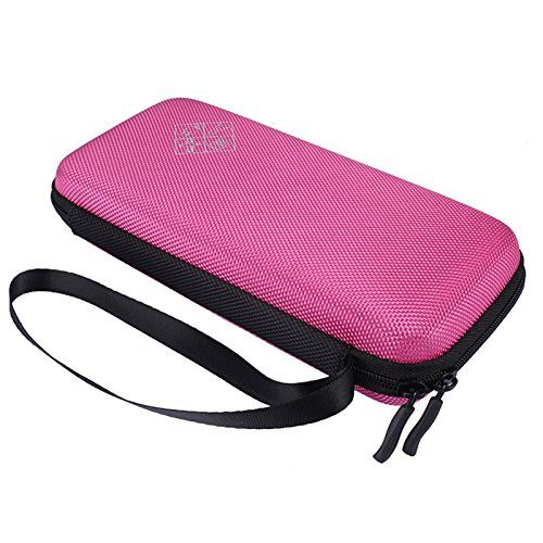 Xberstar Hard EVA Shockproof Carry Case Bag Pouch for Texas Instruments TI84 Plus CEColor TI83 PlusTI89 Titanium HP 50G Graphing Scientific Financial Calculators Pink -- Read more  at the image link.