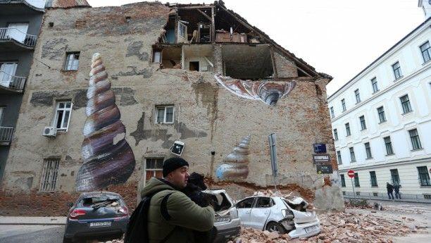 5 3 Magnitude Quake Hits Croatia S Capital In 2020 Earthquake Croatia Zagreb