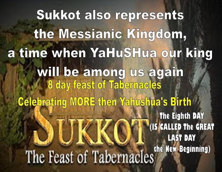 Sukkot The Feast of Tabernacles www.hebrewtruth.com