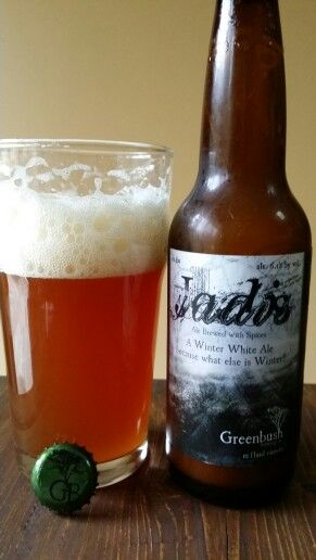 Greenbush Brewing Co.'s Jadis is herbed spiced brew. Hints of cinnamon make this a favorite of the seasonal brews.