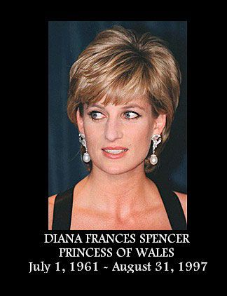 i could def. be princess diana.... if i was beautiful, tall and blond