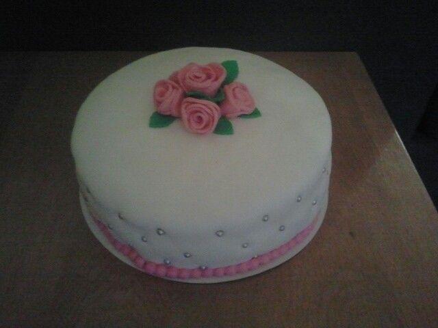 taart voor mijn moeder haar 60ste verjaardag