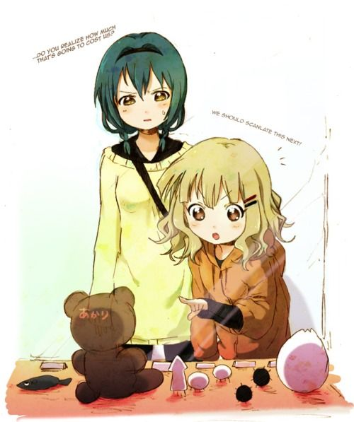 I just made my monthly donation to Bakkin Translations, and encourage other Oomure ke and Yuru Yuri fans to do the same.
