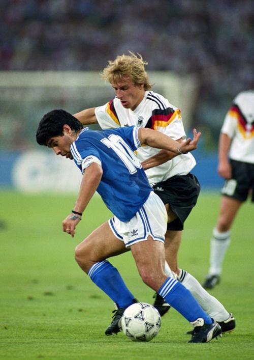 Diego Maradona VS Jurgen Klinsmann  8 July 1990
